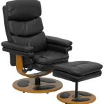 Flash Furniture Black Leather Recliner & OttomanBT-7828-PILLOW-GG