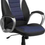 Flash Furniture High Back Black Vinyl Office ChairCH-CX0243H-SAT-GG