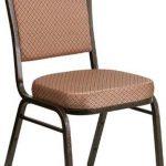 Flash Furniture Crown Bck Stacking Banquet ChairFD-C01-GOLDVEIN-GO-GG