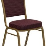 Flash Furniture Crown Back Stacking ChairFD-C01-SILVERVEIN-3169-GG