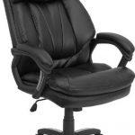 Flash Furniture High Back Black Leather Office ChairGO-1097-BK-LEA-GG