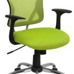 Flash Furniture Mid-Back Green Mesh Office ChairH-8369F-GN-GG