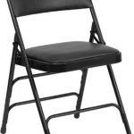 Flash Furniture 3Braced & Quad Hinged Black Vinyl ChairHA-MC309AV-BK-GG