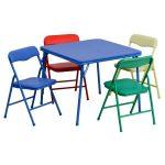 Flash Furniture Kids 5 Piece Folding Table and Chair SetJB-9-KID-GG