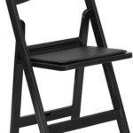Flash Furniture 1000 lb. Cap Black Resin Folding ChairLE-L-1-BLACK-GG