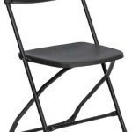 Flash Furniture 800 lb. Cap Premium Black Folding ChairLE-L-3-BK-GG
