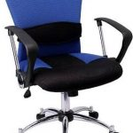 Flash Furniture Mid-Back Blue Mesh Office ChairLF-W23-BLUE-GG
