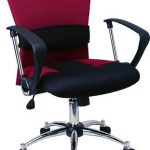 Flash Furniture Mid-Back Burgundy Mesh Office ChairLF-W23-RED-GG