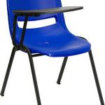 Flash Furniture Burgundy Shell Chair w/Left ArmRUT-EO1-BL-RTAB-GG