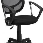 Flash Furniture MidBack Bk Mesh Task Chair & Comp ChairWA-3074-BK-A-GG