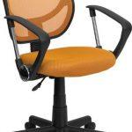 Flash Furniture MidBack Orange Mesh Chair & Comp ChairWA-3074-OR-A-GG