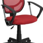 Flash Furniture Mid-Back Red Task Chair & Comptr ChairWA-3074-RD-A-GG