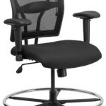 Flash Furniture 400 lb. Cap Big & Tall Black ChairWL-5029SYG-A-GG