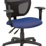 Flash Furniture MidBack Mesh Task Chair w/Navy SeatWL-A7671SYG-NVY-GG