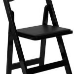 Flash Furniture Black Wood Folding Chair w/ SeatXF-2902-BK-WOOD-GG