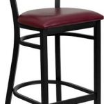 Flash Furniture Black Coffee Bck Bar StoolXU-DG-60114-COF-BAR-BURV-GG
