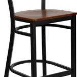 Flash Furniture Black Restaurant Bar StoolXU-DG-60114-COF-BAR-CHYW-GG