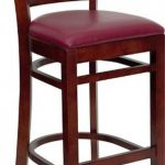Flash Furniture Mahogany Wooden Bar StoolXU-DGW0005BARLAD-MAH-BURV-GG