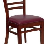 Flash Furniture Mahogany Wooden ChairXU-DGW0005LAD-MAH-BURV-GG