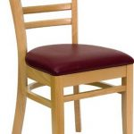 Flash Furniture Natural Wood Vert Slat ChairXU-DGW0005LAD-NAT-BURV-GG