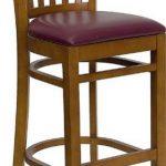 Flash Furniture Cherry Wooden Bar StoolXU-DGW0008BARVRT-CHY-BURV-GG