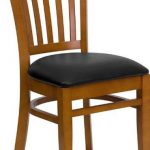 Flash Furniture Cherry Wooden ChairXU-DGW0008VRT-CHY-BLKV-GG