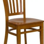 Flash Furniture Cherry Wooden Restaurant ChairXU-DGW0008VRT-CHY-GG
