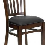 Flash Furniture Walnut Wooden ChairXU-DGW0008VRT-WAL-BLKV-GG
