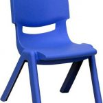 Flash Furniture Blue Stackable School Chair w/SeatYU-YCX-003-BLUE-GG