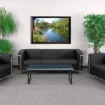 Flash Furniture HERCULES Regal Reception WhiteZB-REGAL-810-SET-BK-GG