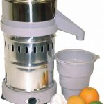 Omcan (FMA) Juice Extractor, 2 crown sizes, anti-skid pads, 1/4 HP, 1750 RPM, 110V/60/1