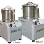 Omcan (FMA) QS Series Bowl Cutters, 3 L bowl capacity, .88 hp, 110v/60/1, 1400 RPM, 10″ x 12″ x 19″, CE