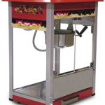 Omcan (FMA) Popcorn Machine, 16.5″ x 22″ x 29″, 8 oz kettle volume, stainless steel & aluminum construction, 110V/60/1