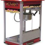 Omcan (FMA) Popcorn Machine, 16.5″ x 22″ x 29″, 8 oz kettle volume, stainless steel & aluminum construction, 110V/60/1