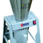 Omcan (FMA) 'Blender, floor style, 15 L, stainless steel tilting bowl & knives, 1-1/2 HP, 3500 RPM