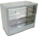 Omcan (FMA) 'Food Warmer/Display Case, (4) tier, 11-3/4″ x 22″ rack size, temperature control, 1.0 kw, CE