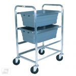 Omcan (FMA) 3-Lug Knock Down Lug Rack – Aluminum