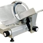 Omcan (FMA) 'Meat Slicer, manual, gravity feed, 11″ dia. carbon steel blade, belt driven blade assembly, .35 hp