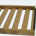Omcan (FMA) Wine Cellar Shelf, rolling, wooden, for 10961