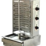 Omcan (FMA) 'Vertical Broiler, electric, 3 heating elements controlled by thermostat, stainless steel construction, 6000W, CE