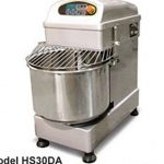 Omcan (FMA) 'Dough Mixer, 35 L, 26.40 lb. capacity, mixer & bowl revolve simultaneously, safety cover, 1.1/1.5 HP, CE