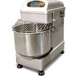 Omcan (FMA) 'Dough Mixer, 40 L, 35.2 lb. capacity, mixer & bowl revolve simultaneously, safety cover, 1.5/3 HP, CE