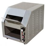 Omcan (FMA) 'Conveyor Toaster, horizontal, 2″ opening, variable speed control, 1.8 kw, 15 amps, with 20 amp plug, ETL & cETL