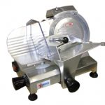 Omcan (FMA) 'Meat Slicer, manual, gravity feed, 8″ dia. knife, 120 W, .16 HP, ETL & cETL, CE