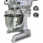 Omcan (FMA) 'General Purpose Mixer, 20 qt. capacity, 3 speed gear driven, 1-1/2 HP, CE, ETL and ETL Sanitation