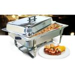 Omcan (FMA) 'Chafing Dish, 8 qt, stainless steel