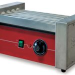 Omcan (FMA) 'Hot Dog Grill, roller type, (5) 14″ stainless steel rollers, adjustable thermostat, 150W, CE