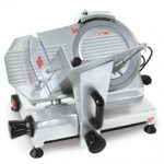 Omcan (FMA) 'Meat Slicer, manual, gravity feed, 9″ dia. knife, 120 W, .16 HP, ETL & cETL, CE