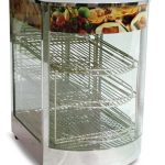Omcan (FMA) 'Food Warmer/Display Case, (3) tier, temperature control, 850 W