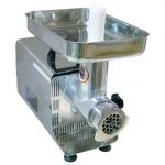 Omcan (FMA) Model BR001A, #8 Stainless Steel Meat Grinder – 1/3 HP